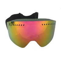 best selling photochromic polarized version snow ski goggles with optical insert