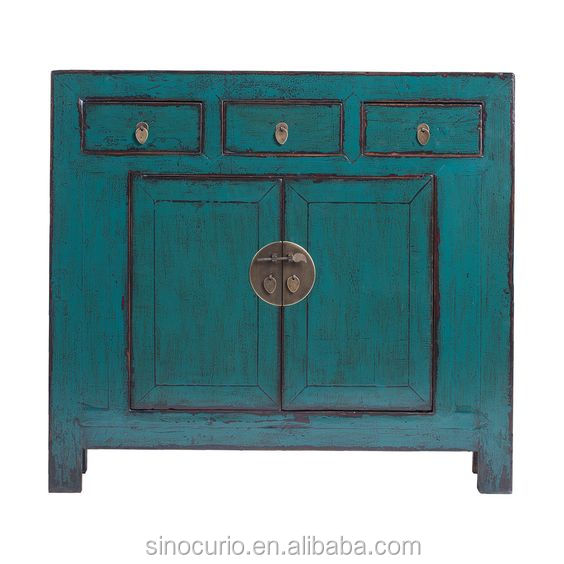 Chinese Antique Recycle Wood Painted Furniture <strong>Cabinet</strong>