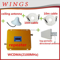 WCDMA Gold 3g cdma gsm mobile phone with 3g antenna wcdma 900/2100mhz