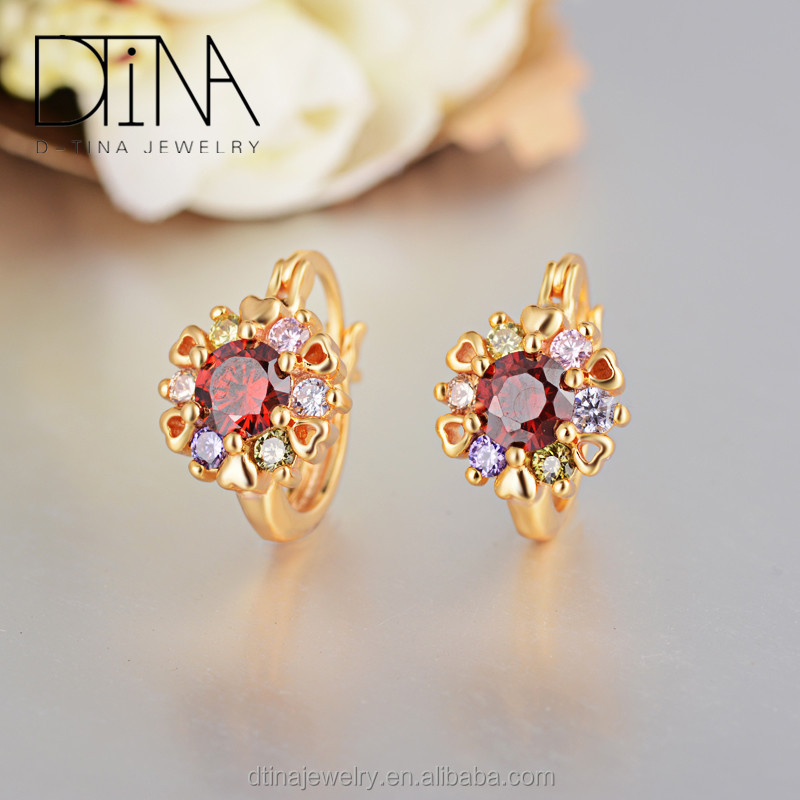 China bali golden earrings wholesale Alibaba