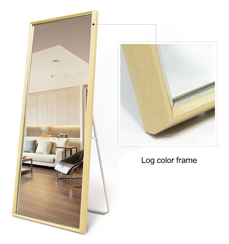Simple Big Wall Mounted Mirrors Framed Decorative Full Length Dressing  Floor Mirror For Bedroom Ctf0098 - Buy Dressing Mirrors For Bedroom,Full  Wall ...