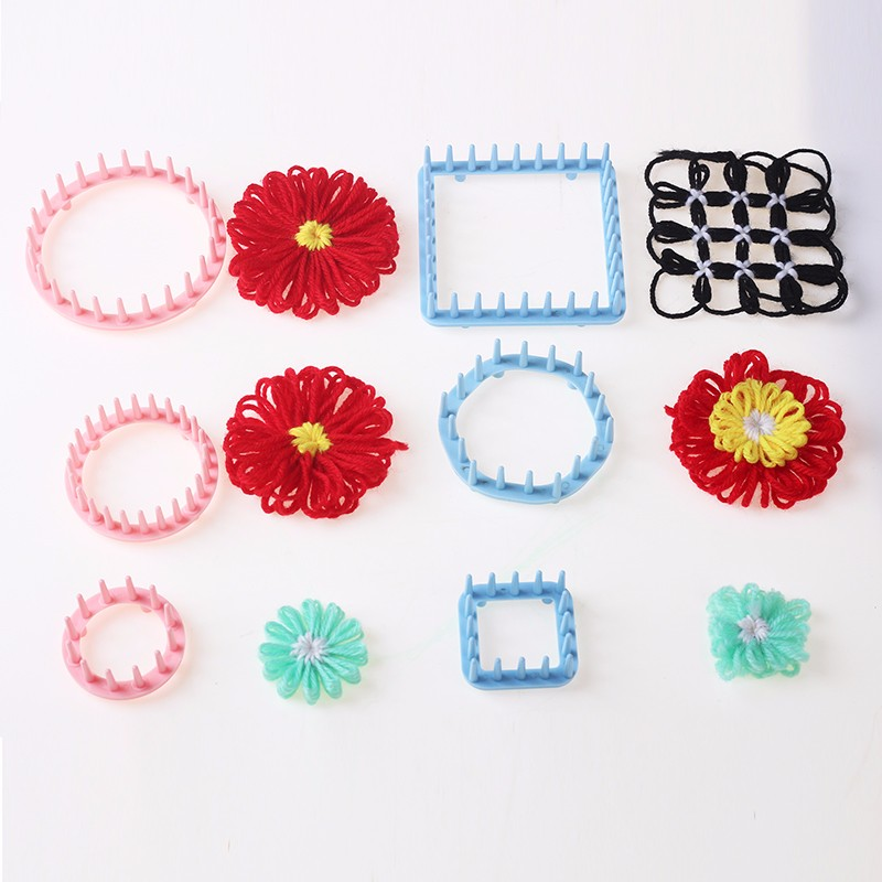 Hand Knitting Tools Flower Fork Knitted Device Knitting Loom Knit