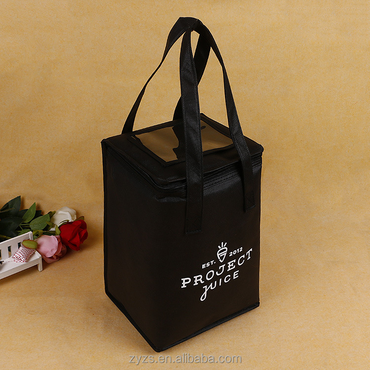 Whole Custom Printing Food Disposable Commercial Cooler Bag Promotional