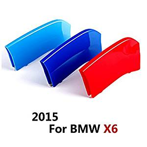 COGEEK ///M Sport Package Car Grille Inserts Styling Front Grill ABS Plastic Trim Strips Sticker Auto For BMW Series (2015 BMW X6 Series)