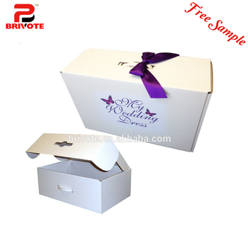 Wedding Dress Storage Box Shipping