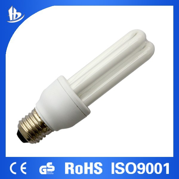 CFL bulb T4 U shape 9W E27 Energy Saving lamp