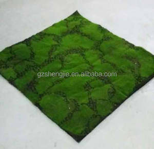 Hotsale new style artificial moss mat green artificial moss mat high quality decoration green wall mat