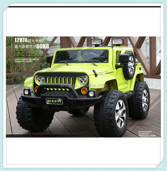 2017 new 24g 4 wheel electric jeep car for kids