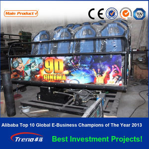 2014 Zhuoyuan Home cinema 3d 4d 5d 7d 9d simulator hdmi projector