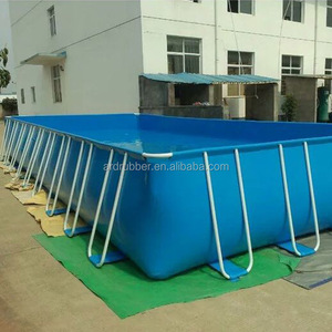 Used for fish tank farming with PVC foldable and collapsible fish pond