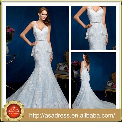 Kc1009 Latest Vintage Sweetheart Bridal Gown Low Back Light Blue Lace  Colored Plus Size Wedding Dress - Buy Plus Size Wedding Dress,Lace Plus  Size ...