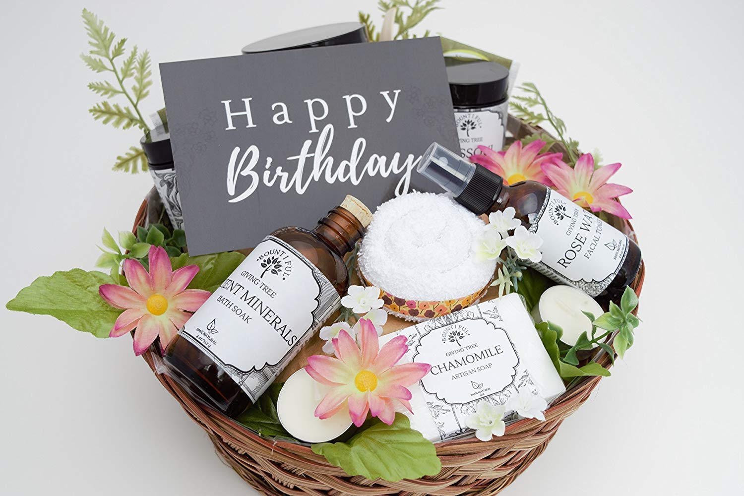 Birthday Gift Basket Bestfriend Spa