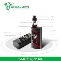 Factory Cheap Price 3ml 220W SMOK Alien Kit E-Cigarette