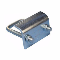 Pure metal power fittings U type bolt with nut & washer / Galvanized U Bolt cable clamp