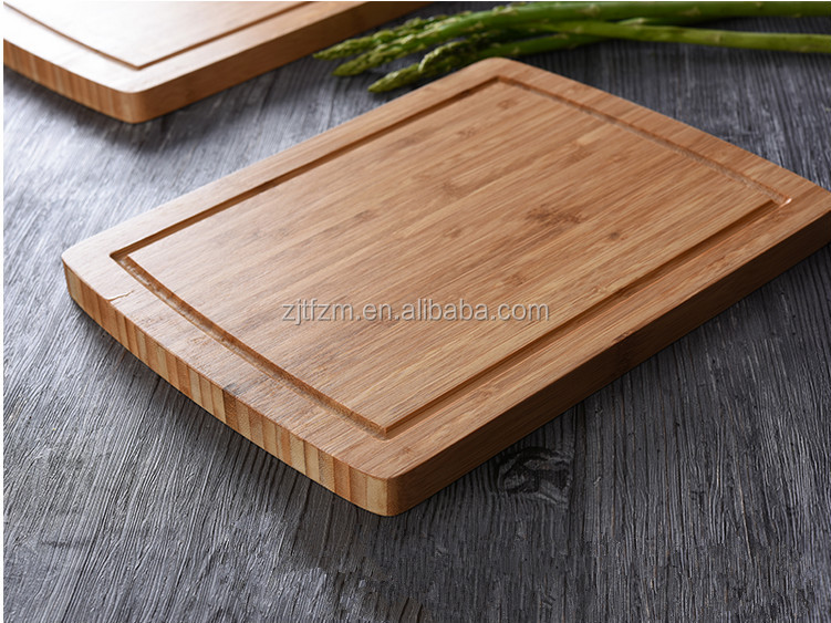Wholesale kitchen sink edge guardian bamboo cutting board for healthy life