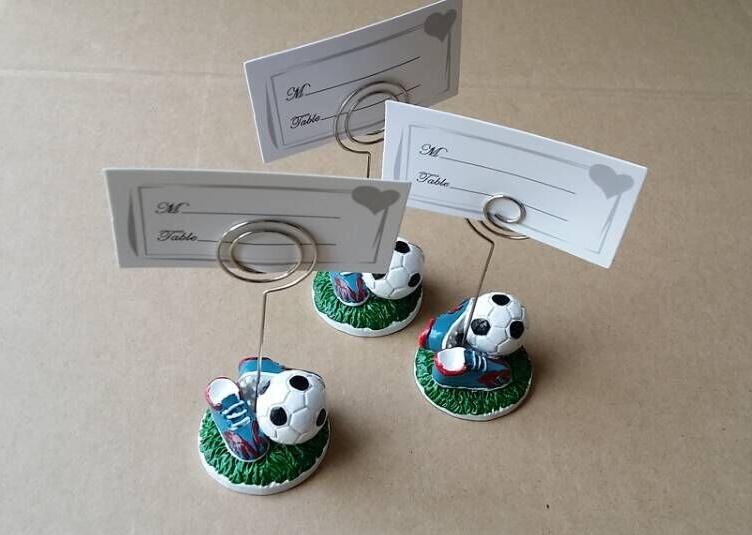 Soccer Themed Wedding Ideas: 10pcs/Lot+Sport Series Wedding Gift Football Design Place