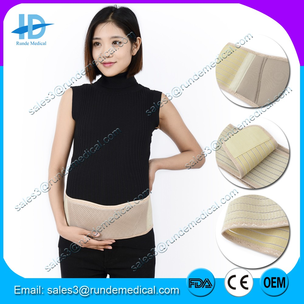 Runde Medical pregnancy belly support band back pain brace Maternity belt with CE FDA approved