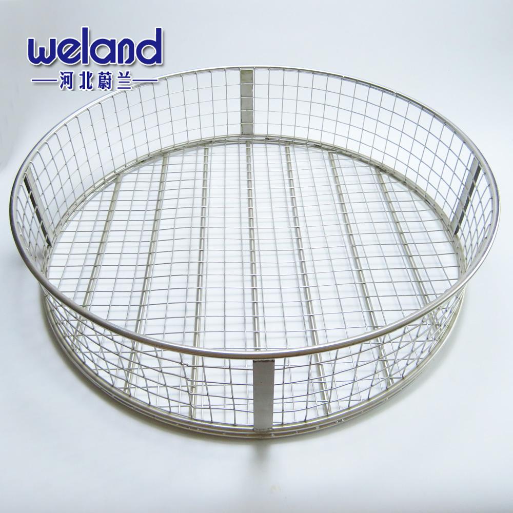 2-1000 ميكرون الفولاذ المقاوم للصدأ حفرة مربعة شبكة معدنية دلو الملطخ