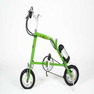 "12"" mini electric folding bike double bench surrey"