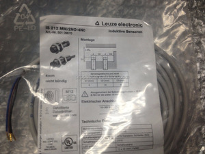 (LEUZE Proximity switch sensor) IS212MM/2NO-4N0