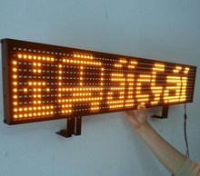 reliable led suppier in shenzhen HD advertising led taxi top sign screen panel