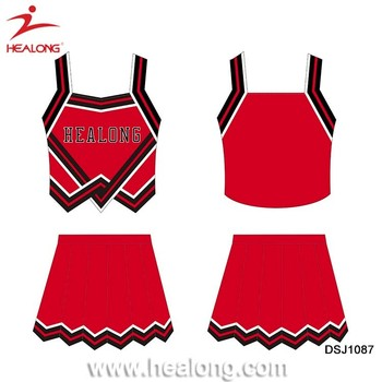 Wholesale Cheerleading Uniform Custom Design Your Own Cheerleading Uniform