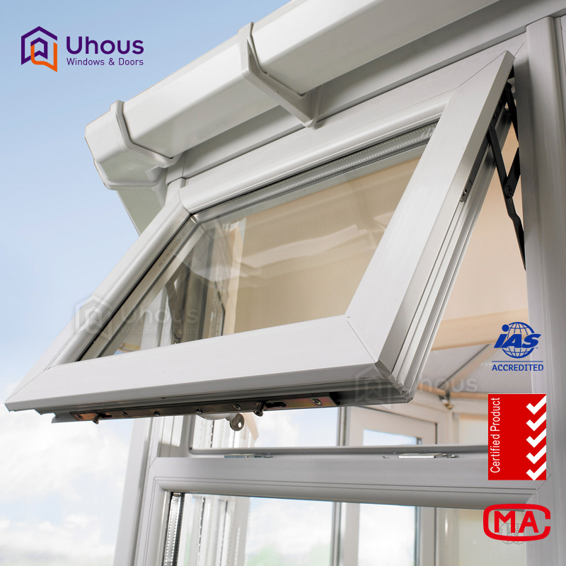 Modern aluminium double glazing Awning Window