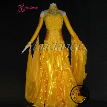 Plus Size Ballroom Dance Dresses Yellow Golden B-1179 - Buy Plus Size  Ballroom Dance Dresses,Plus Size Ballroom Dance Dresses Yellow,Plus Size ...