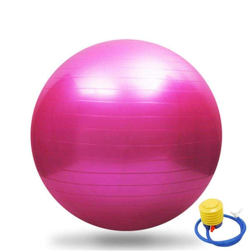 Ounice Exercise Ball 65cm Exercise GYM Yoga Swiss Ball Fitness Pregnancy Birthing Anti Burst + Pump