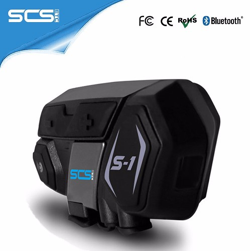SCS Dual Interphone Wireless 4 Riders motorcycle intercom bluetooth helmet