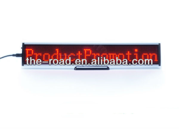 personalized Led Display Made In China used such as taxi ,hotel