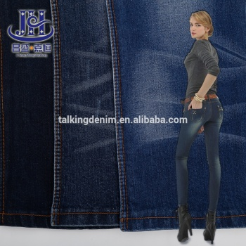 organic yarn dyeing knit cotton viscose spandex modal woven nude 4 way tc stretch levis jeans denim slub fabric price