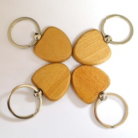 Souvenir Plain Key Ring Holder Keyring Carving Engraved Custom Logo Blank Wood Key Chain Keychain With Name
