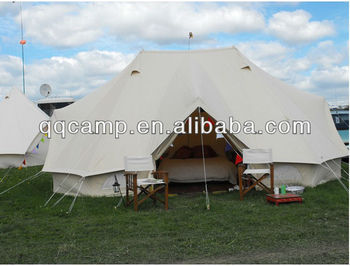 4*6M Gl&ing bell tent cotton for hotel bell tent & 4*6m Glamping Bell Tent Cotton For Hotel Bell Tent - Buy Bell Tent ...