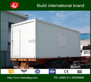 building houses The construction site of the prefabricated luxury container house
