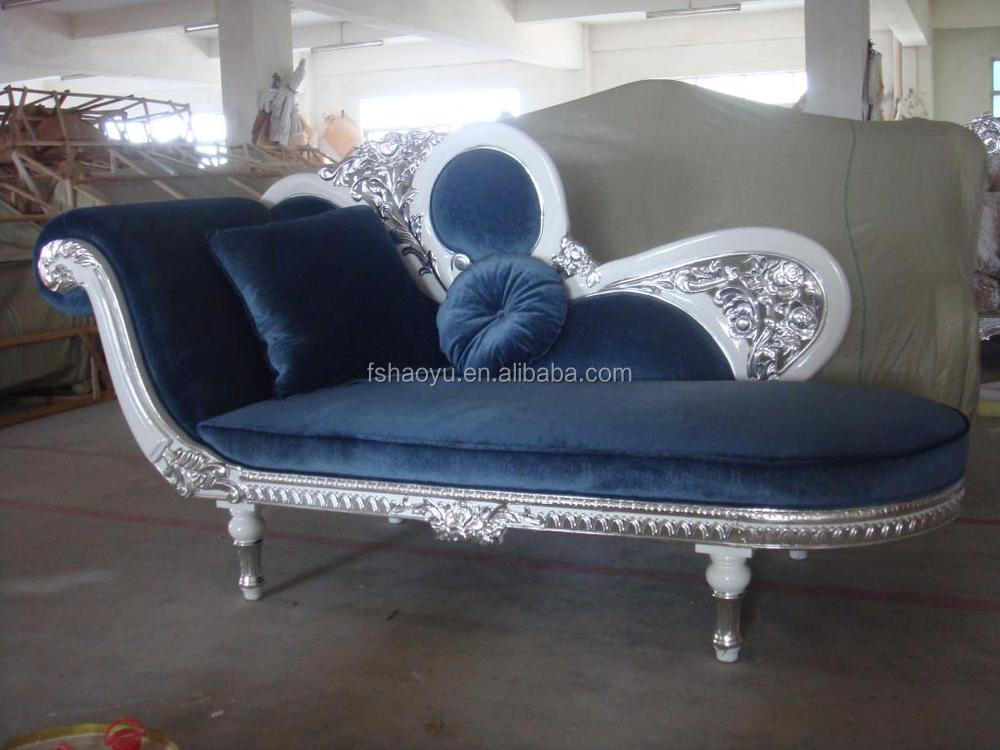Beautiful Elegant Chaise Lounge, Red Color High End Chaise Sofa, Furniture Diwan