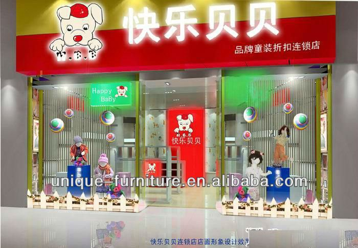 Hot Selling New Design Baby Clothing Store Children Kids Wearing