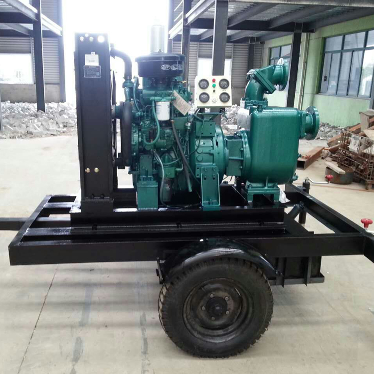 Wholesale Cast Iron Self - Priming Diesel Engine Water Pump Unit