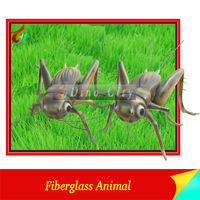Artificial Fiberglass Insect Model Outdoor Show