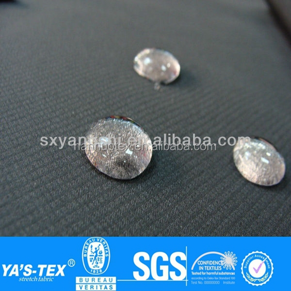 china textile print woven waterproof fabric,  water repellent fabric