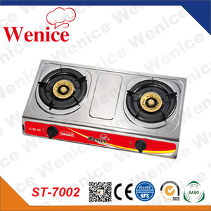 2 burner Gas Cooker and Gas stove parts