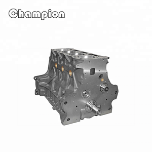 Chinese Auto 4 Cylinder Engine Cylinder Block 6600 6610 BSD444 for Ford  Tractor