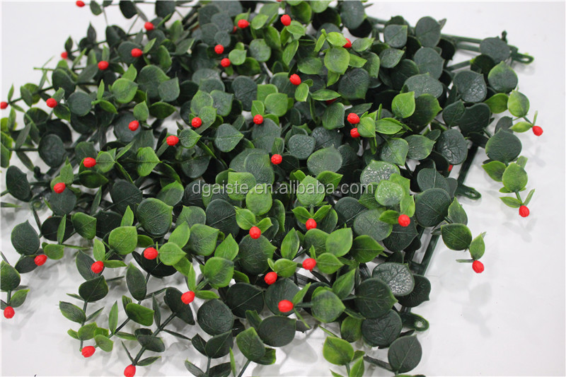 green decoration boxwood hedge PE uv resistant hedge panel