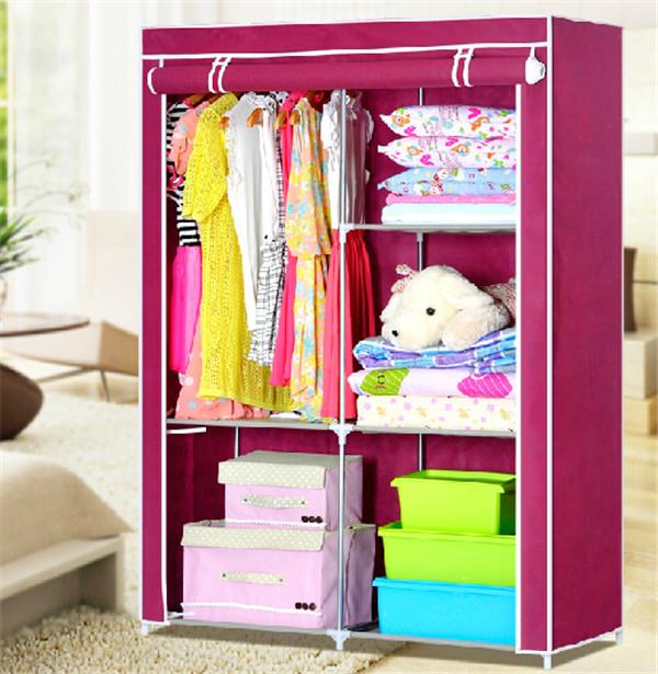 portátil de almacenamiento closet dormitorio armario puerta diseños ...