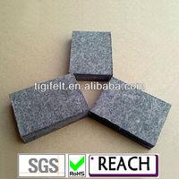 6mm Grey wool felt/ Grey felt fabric/100% natural wool felt/thickness(SGS and RoSH certification)