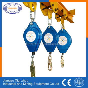 Steel Wire Rope Fall Restraint Protection Equipment - Buy Fall ...