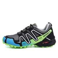 Man's big size breathable outdoor high quality power hiking shoes men