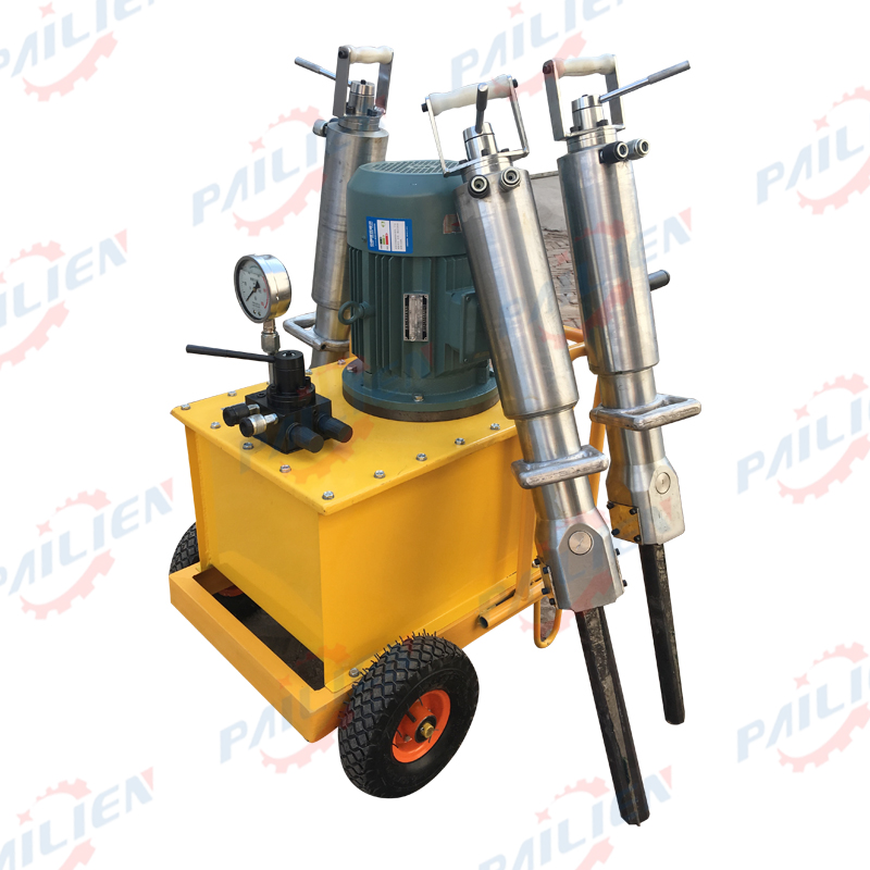 good quality electric Concrete/ stone rock Splitter