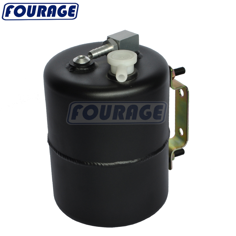 Aluminium Alloy 2L Vacuum Brake Booster Canister Reservoir Tank for GM POLISHED