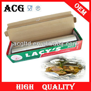 fresh aluminium foil for meat packaing